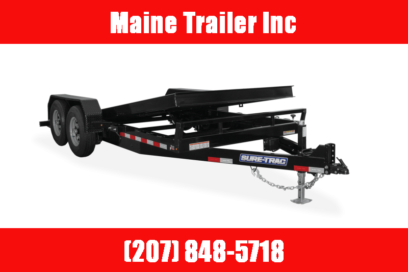 2021 Sure-Trac 7 x 20 Tilt Bed Equipment Trailer 16K