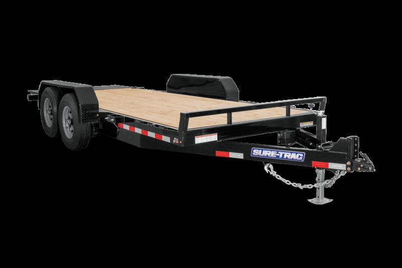 2021 Sure-Trac 7 x 20 Tilt Bed Equipment Trailer 16K