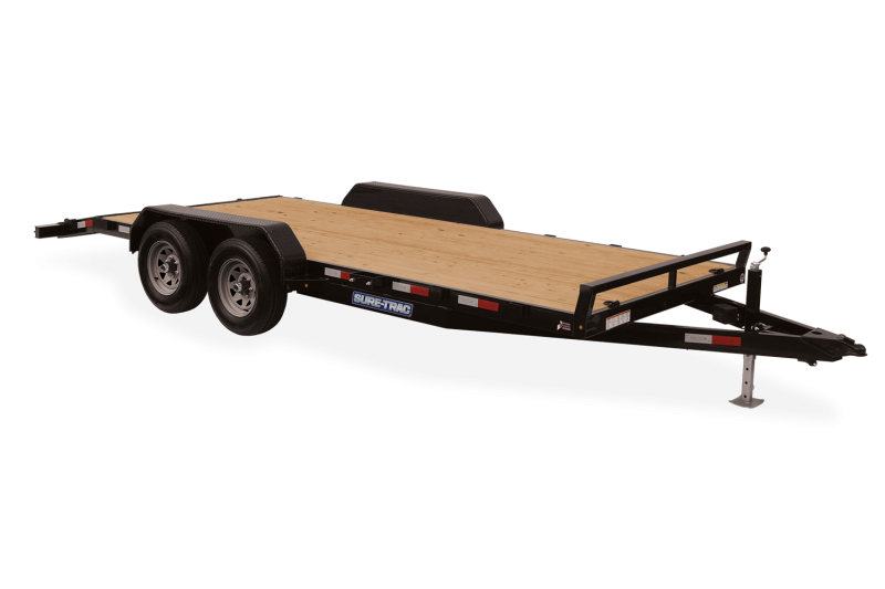 2021 Sure-Trac ST8218CHW-B-100 Car / Racing Trailer