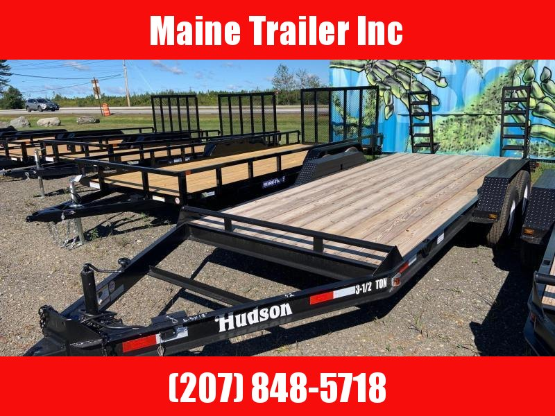 2020 Hudson Brothers HSE Deluxe w/ Tool Box - 4 Ton Capacity (20') Equipment Trailer