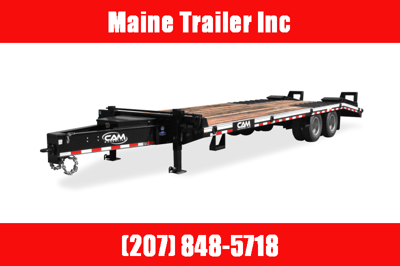 2021 Cam Superline P20CAM8225TA 20 Ton Equipment Trailer