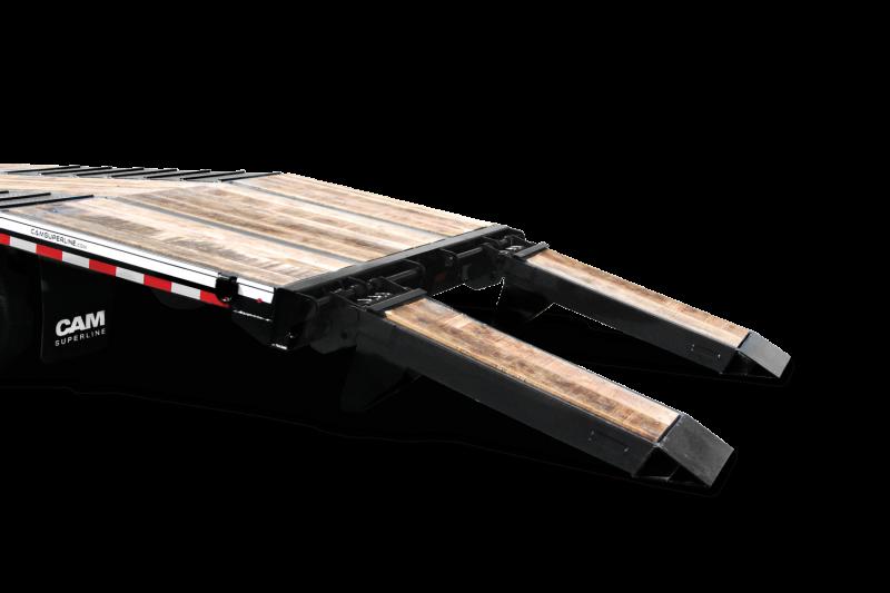 2021 Cam Superline P20CAM8205TA Flatbed Trailer