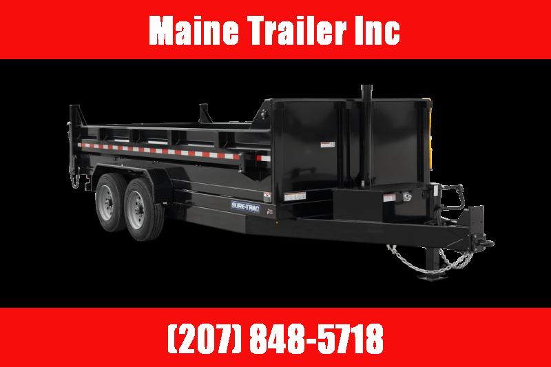 2021 Sure-Trac ST8212HLOD-B-120 Dump Trailer