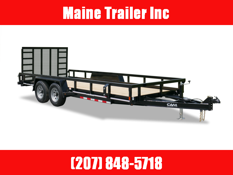 2021 Cam Superline P8218TAT-B-100 Utility Trailer
