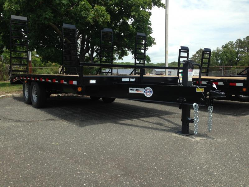 2020 Quality Steel and Aluminum 102X20+4 DECK OVER Equipment Trailer