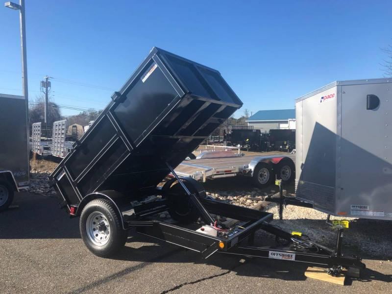 2020 p and t 5x8 dump trailer