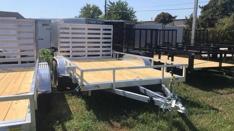 2020 Quality Steel and Aluminum 7X12 TA ALUMINUM Utility Trailer