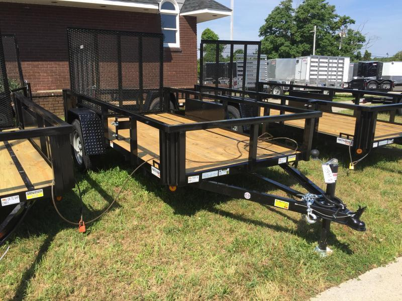2021 Quality Steel and Aluminum 5x8 landscape Utility Trailer