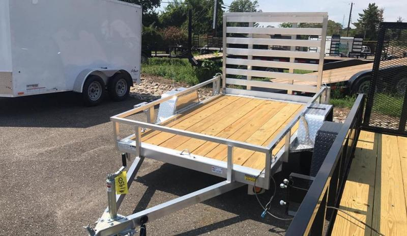 2021 Quality Steel and Aluminum 5x10 landscape Utility Trailer