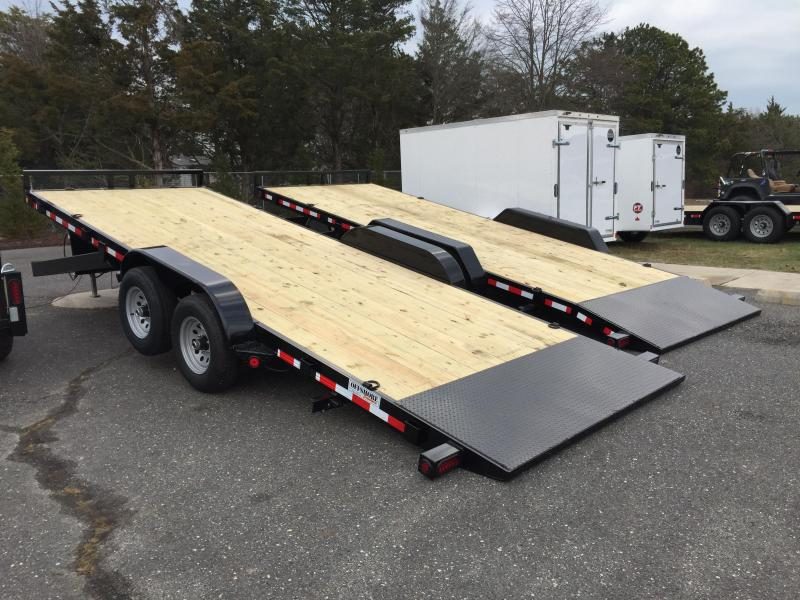 2021 Quality Steel and Aluminum 8320 14k Equipment Trailer