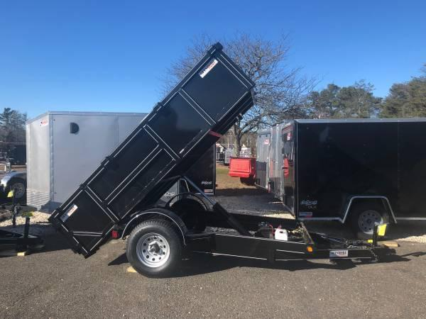 2020 p and t 5x10 dump trailer