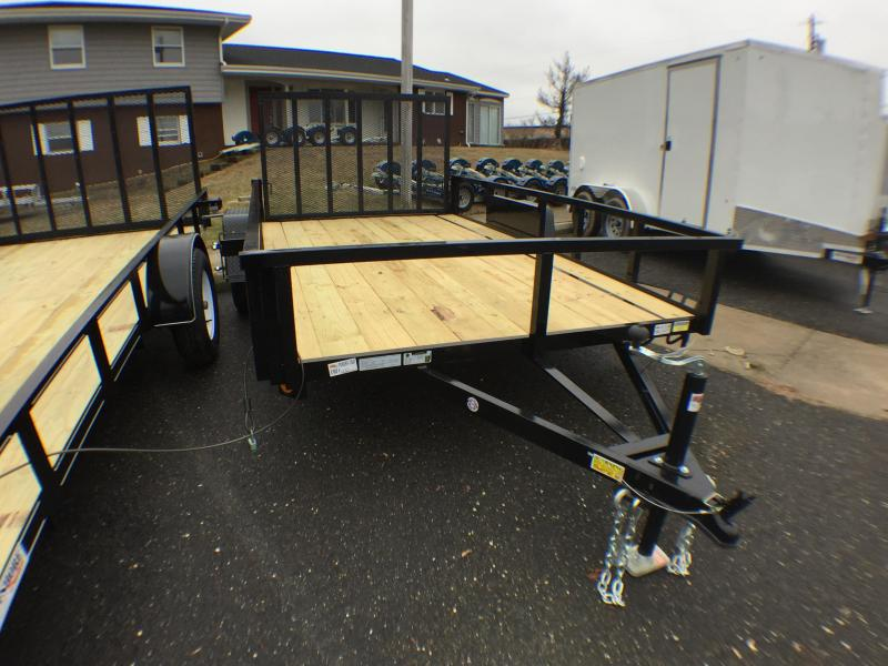 2021 Quality Steel and Aluminum 5x12 landscape Utility Trailer