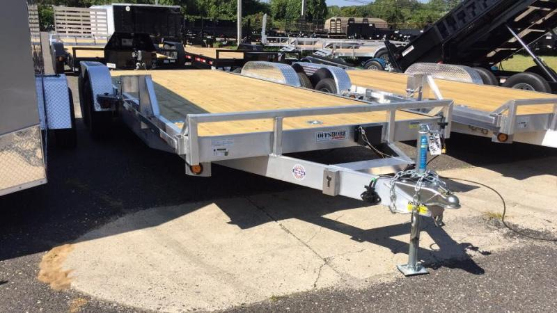 2021Quality Steel and Aluminum 18' aluminum 10k Car / Racing Trailer