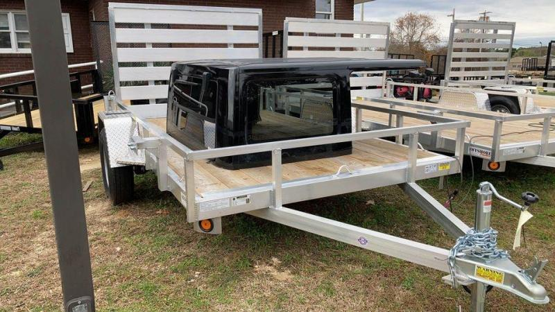 2021 Quality Steel and Aluminum 6x10 landscape Utility Trailer