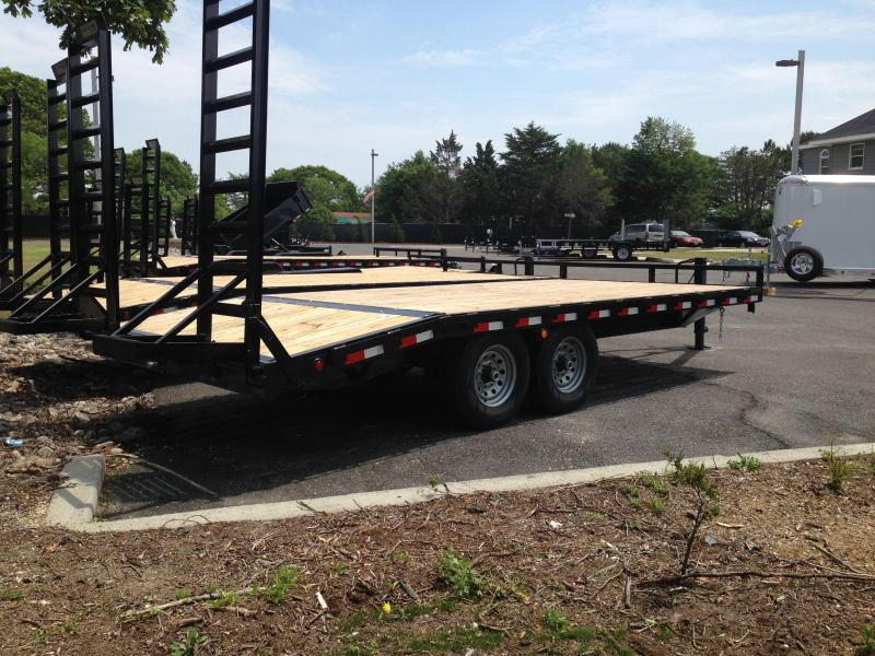 2020 Quality Steel and Aluminum 102X16+4 DECK OVER Equipment Trailer