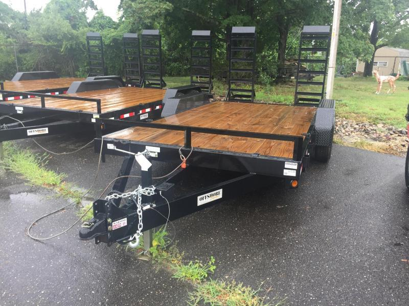 2021 Quality Trailers 18' low profile Equipment Trailer