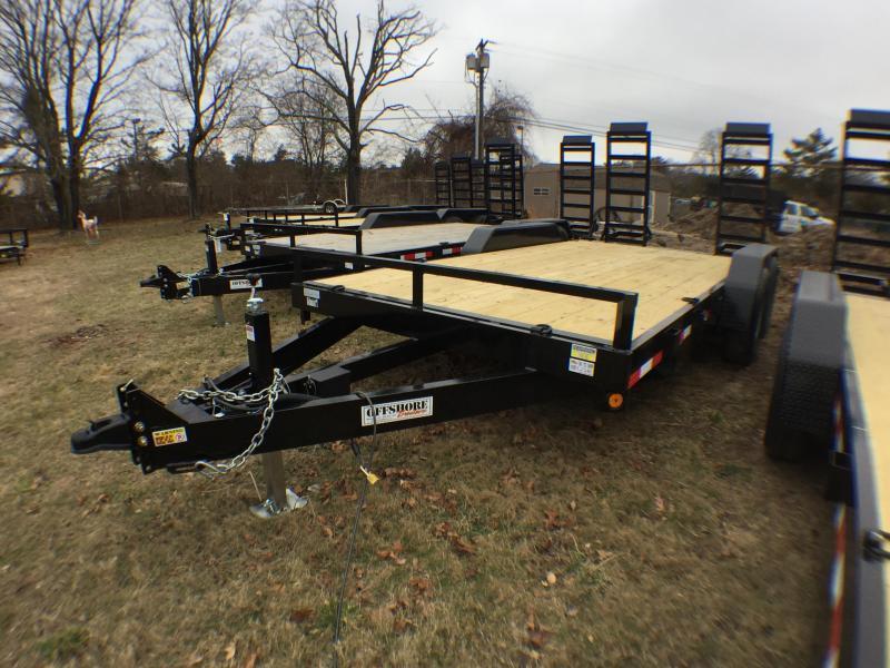 2021 Quality Steel and Aluminum 14 14K GVWR Equipment Trailer