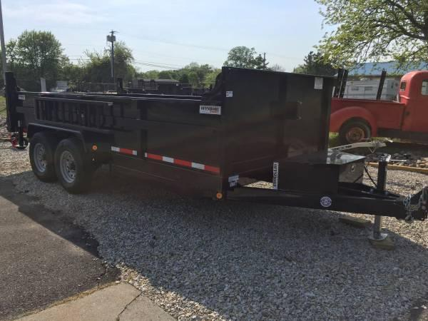 2021 Quality Steel and Aluminum 83x16lp heavy duty Dump Trailer