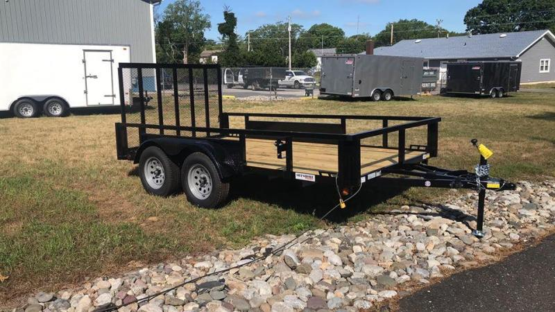 2021 Quality Steel and Aluminum 7x14 ta Utility Trailer