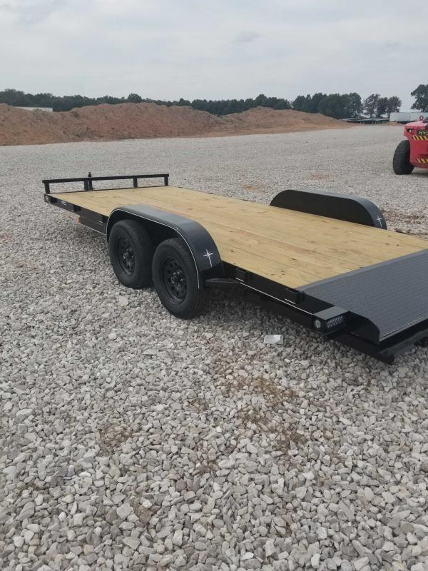 2021 Starlite Trailers 82-1835ALTDV Equipment Trailer