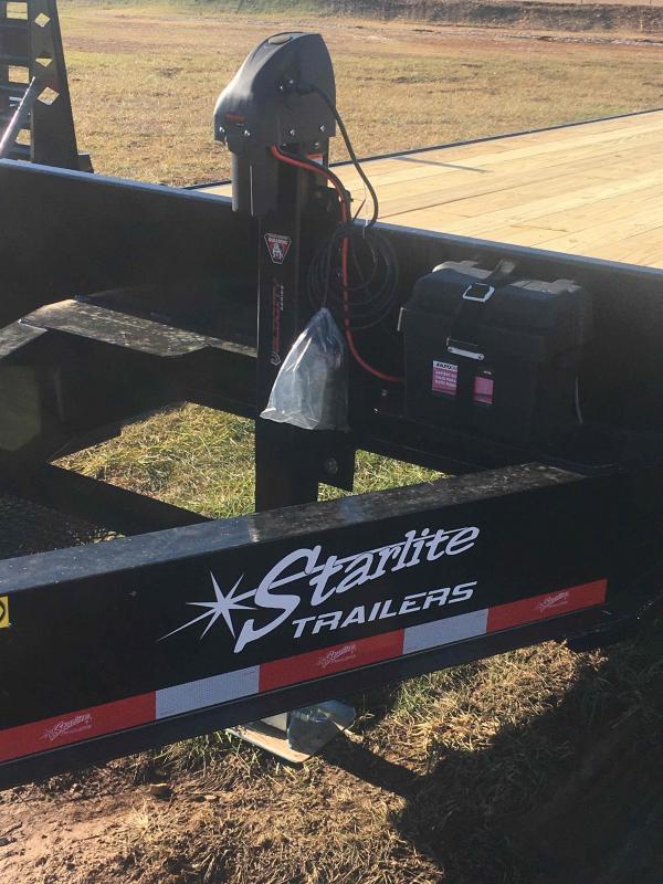 2021 Starlite Trailers 102 24TA BUMPER Equipment Trailer