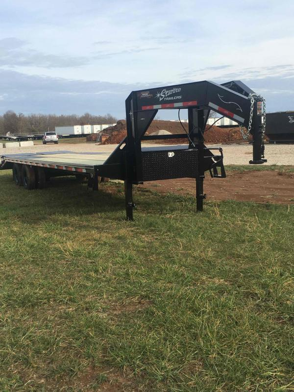 2020 Starlite Trailers 32TDGN-LP DECKOVER Equipment Trailer