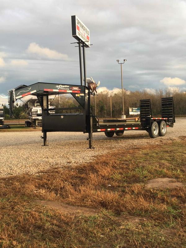 2022 Starlite Trailers 82-248CRDV-GN Equipment Trailer