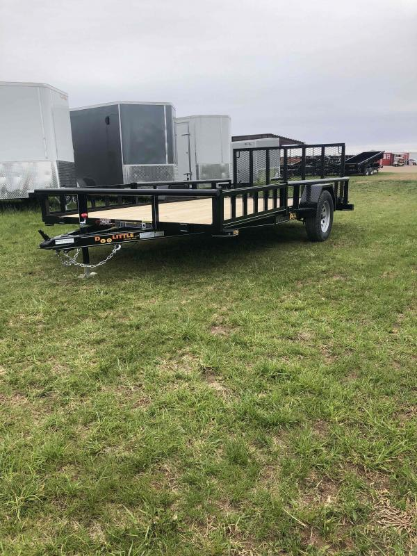 2021 Doolittle Trailer Mfg UT84X14 Equipment Trailer