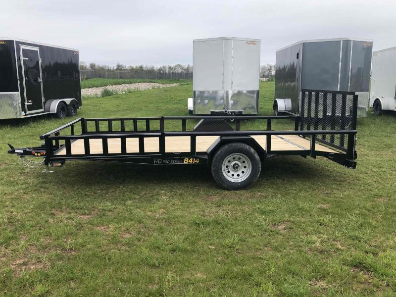 2021 Doolittle Trailer Mfg UT84X14 Equipment Trailer