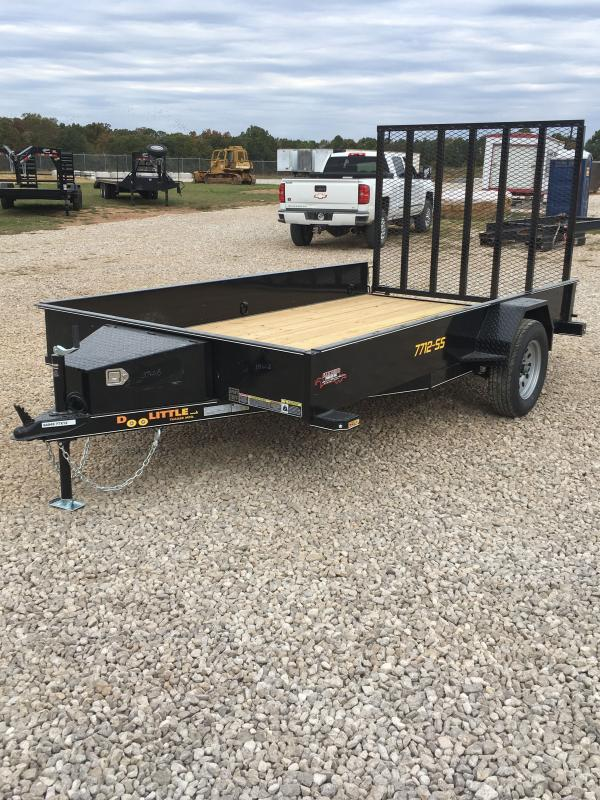 2021 Doolittle Trailer Mfg UT77X123SS Utility Trailer