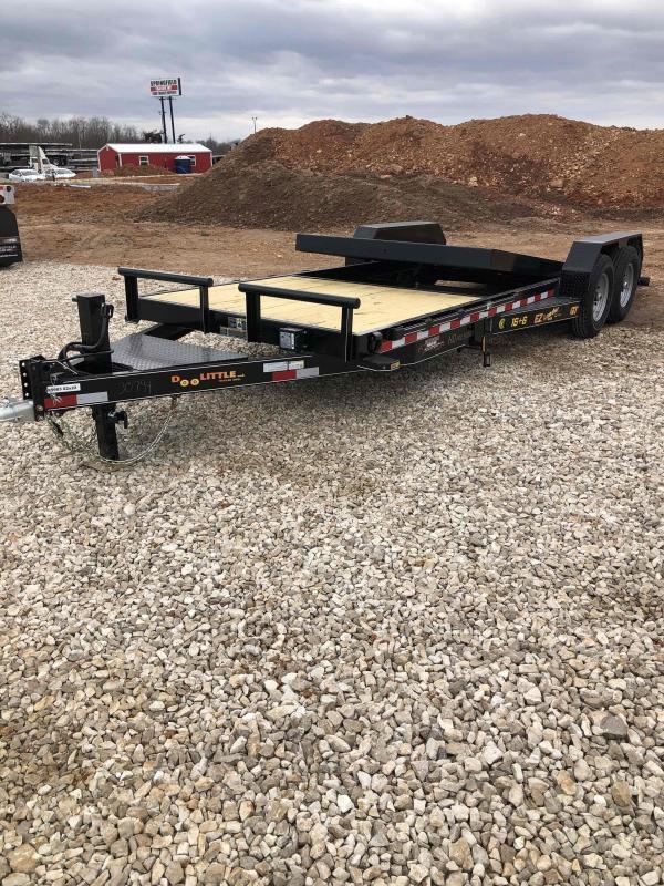2021 Doolittle Trailer Mfg GT822214K TILT Equipment Trailer