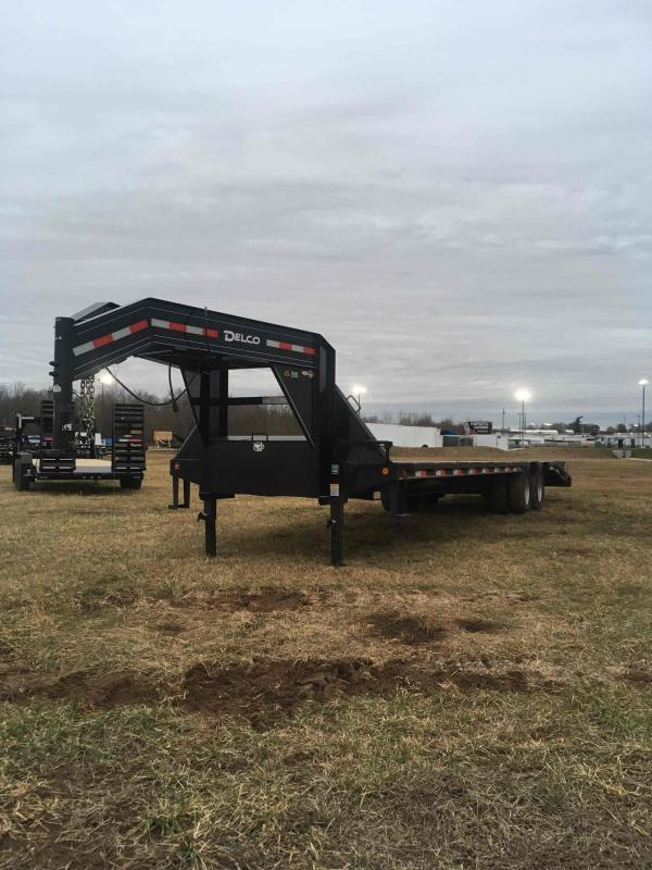 2019 Delco Trailers 32' DECKOVER Equipment Trailer