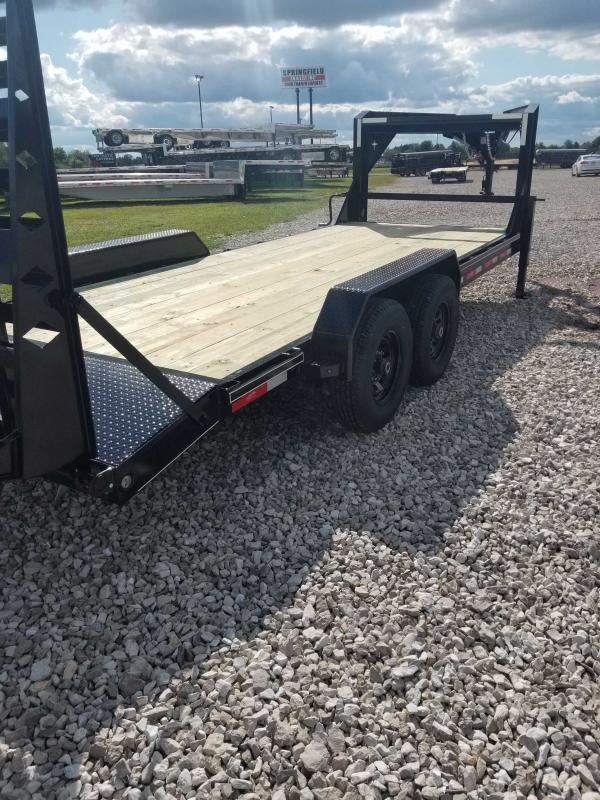 2020 Starlite Trailers 82 206CRDV GN Equipment Trailer