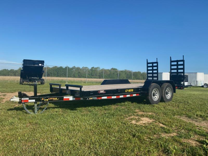 2020 Doolittle Trailer Mfg CF821814K Equipment Trailer