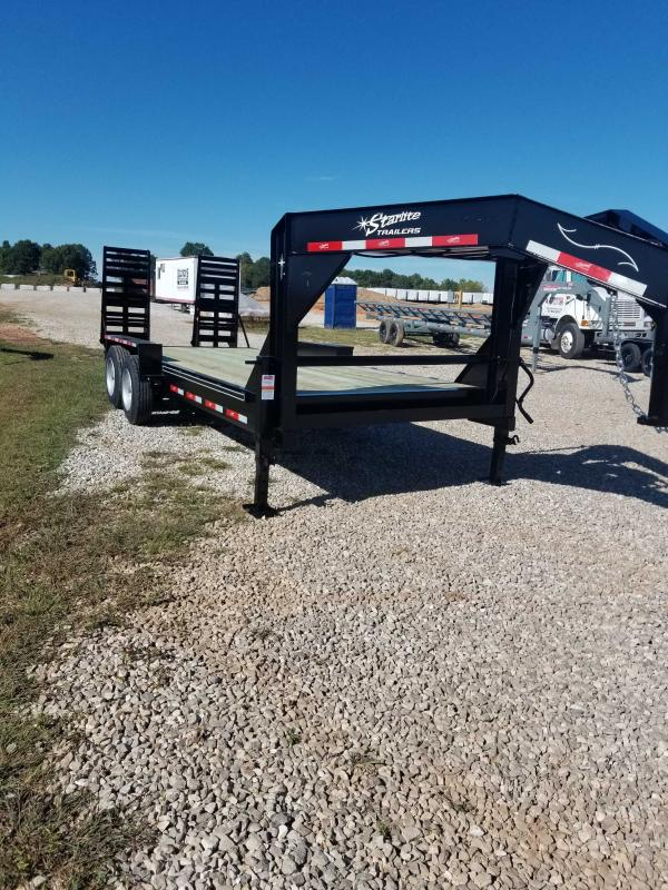 2020 Starlite Trailers 82 H208CRDV GN Equipment Trailer