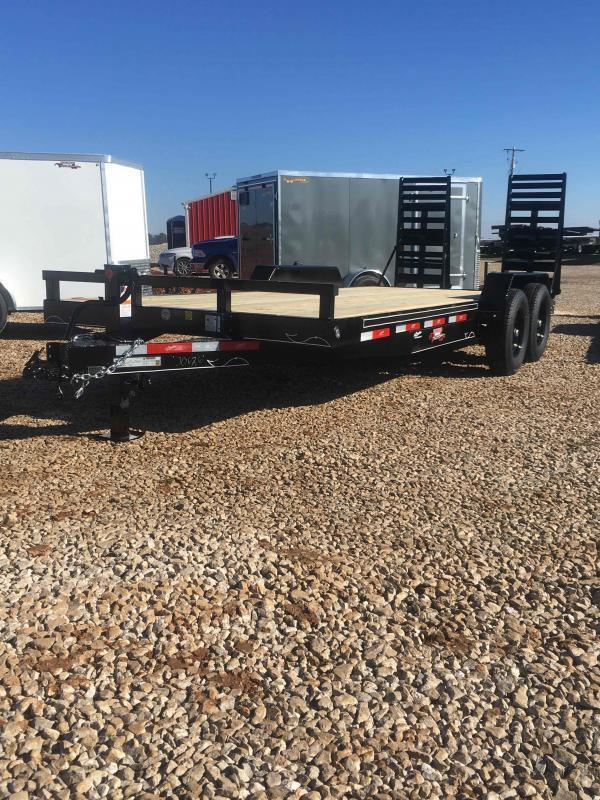 2021 Starlite Trailers 82-H206CRDV Equipment Trailer
