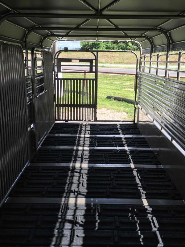 2021 Coose 6 8 X24 METAL TOP Livestock Trailer