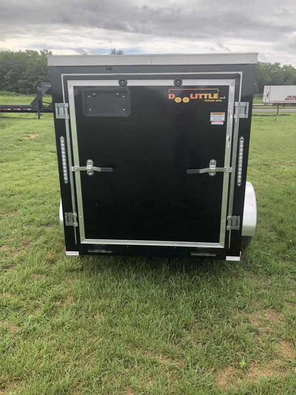 2021 Doolittle Trailer Mfg 5x8 cargo Enclosed Cargo Trailer