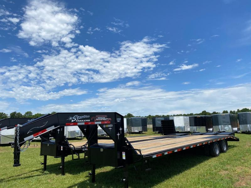 2020 Starlite Trailers 32TDGNDV DECKOVER Equipment Trailer