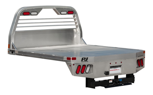 2021 PJ Truck Beds ALGB ALUM FLAT DECK Truck Bed
