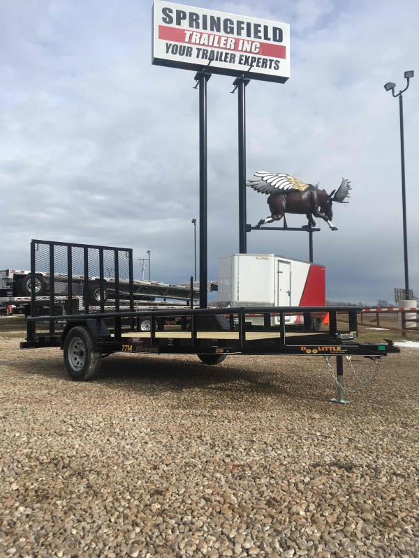 2021 Doolittle Trailer Mfg UT77X14 Utility Trailer