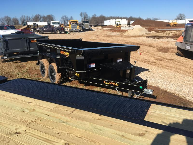 2021 Doolittle Trailer Mfg MD72107K Dump Trailer