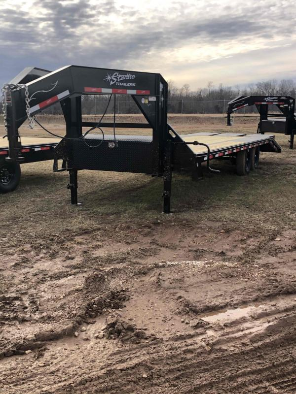 2021 Starlite Trailers 25TAGN LP DECKOVER Equipment Trailer