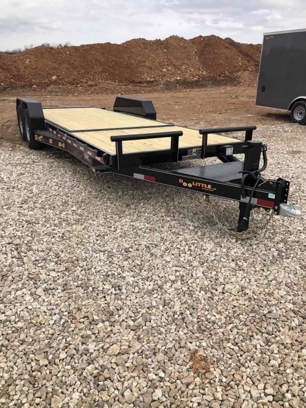 2021 Doolittle Trailer Mfg GT822214K TILT Equipment Trailer