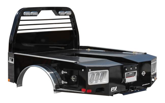2021 PJ Trailers GH SKIRTED HAULER BODY Truck Bed