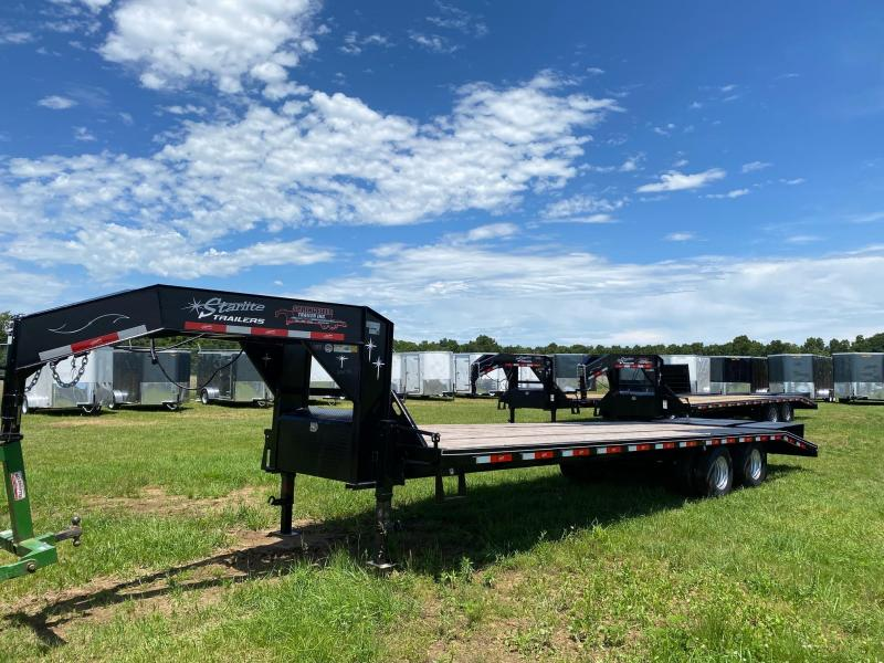 2020 Starlite Trailers 30TDGNDV DECKOVER Equipment Trailer
