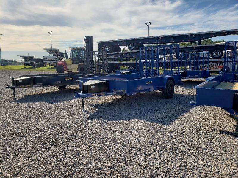 2021 Doolittle Trailer Mfg UT77X12 Utility Trailer