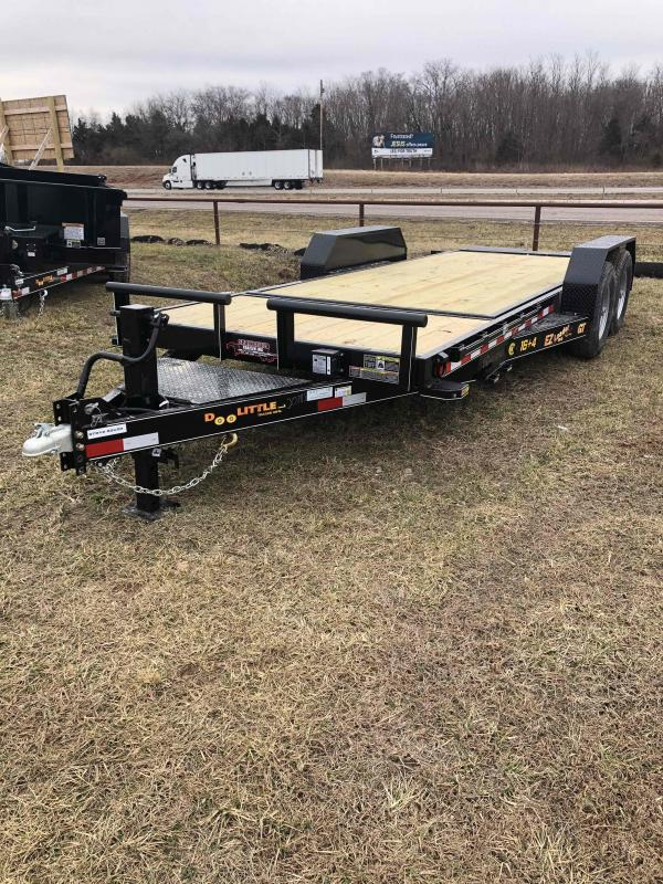 2021 Doolittle Trailer Mfg GT822014K TILT Equipment Trailer