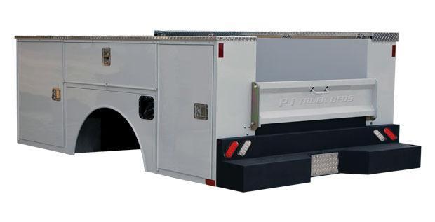 2021 PJ Truck Beds GU SERVICE BODY Truck Bed
