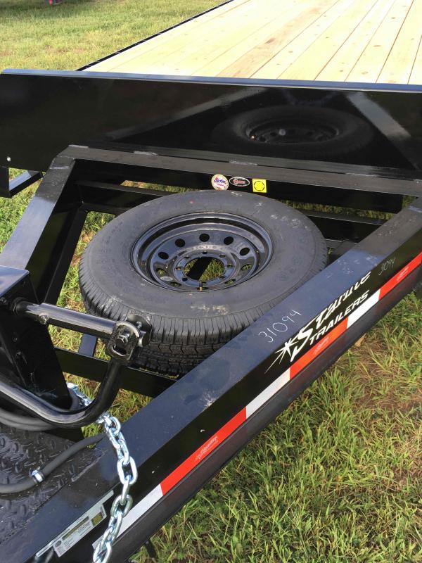 2021 Starlite Trailers 102 20TA BUMPER PULL DECKOVER Equipment Trailer
